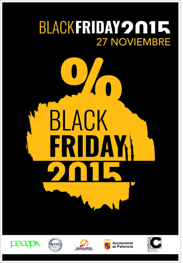 Viernes Negro Black Friday Palencia